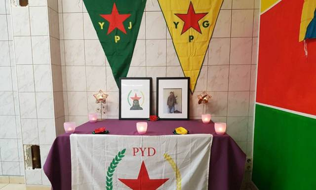 Photo of شبيبة الـPYD في مدينة دريسدن تستذكر الشهيد أيوب تربه سبيه