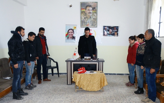 Photo of شبيبة الـ PYD يعقدون اجتماعاً في ناحية (ماباتا) في إقليم عفرين