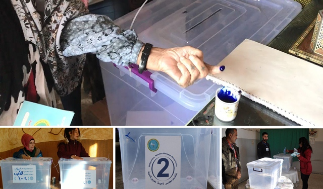 Photo of مراكز الاقتراع فتحت أبوابها أمام الألاف من الناخبين