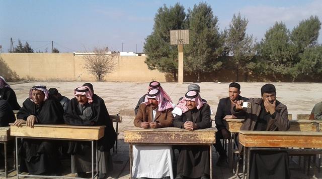 Photo of اجتماعات للـ PYD و TEV-DEMمع المكوّن العربي في قرى ناحية تربسبيه