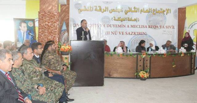 Photo of مجلس الرقة المدني يعقد اجتماعه العام الثاني