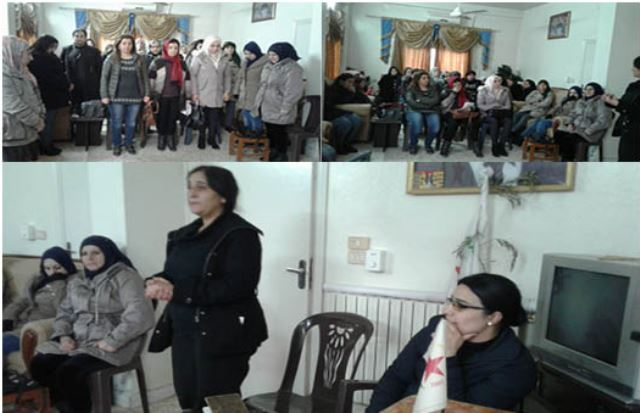 Photo of تنظيم المرأة في الـPYD يعقد اجتماعاً في رميلان