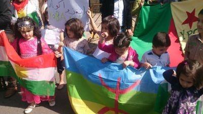 Photo of التجمع العالمي الأمازيغي يشجب جرائم اردوغان بعفرين