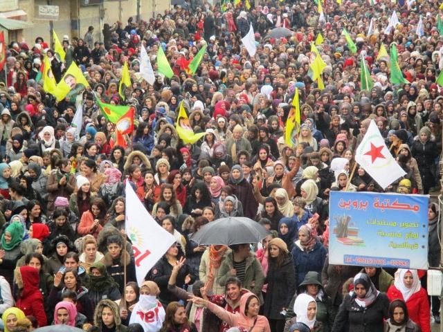 Photo of مقاطعة قامشلو: إرادتنا مقاومتنا وبوحدتنا سنحطم كافة مؤامراتكم