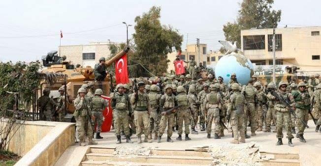Photo of الاحتلال التركي يصف وجود فرنسا في سوريا بالاحتلال