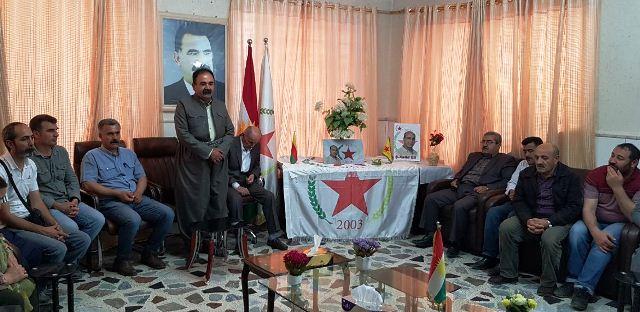 Photo of ممثلية الـPYD في باشور تستقبل الوفود المعزية باستشهاد المناضل خالد كوتي