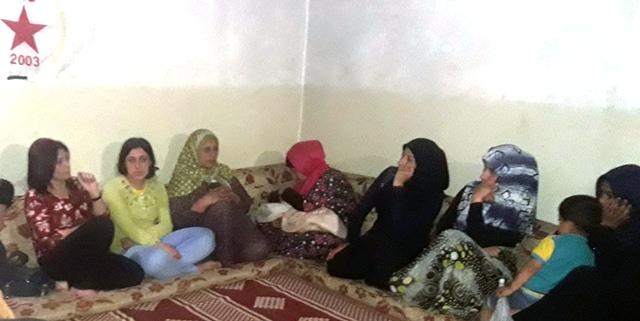 Photo of مكتب المرأة في الـPYD يعقد اجتماعاً للنسوة العربيات في الشيخ مقصود