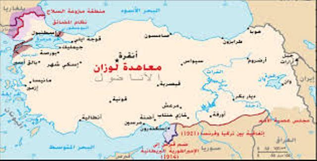 Photo of معاهدة لوزان  تأثيرها على الكرد ومنطقة الشرق الأوسط