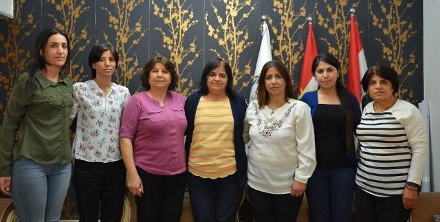 "Photo of السليمانية: ""الجبهة الشعبية"" تدعو إلى مشاركة تجربة نساء روج آفا مع العالم"
