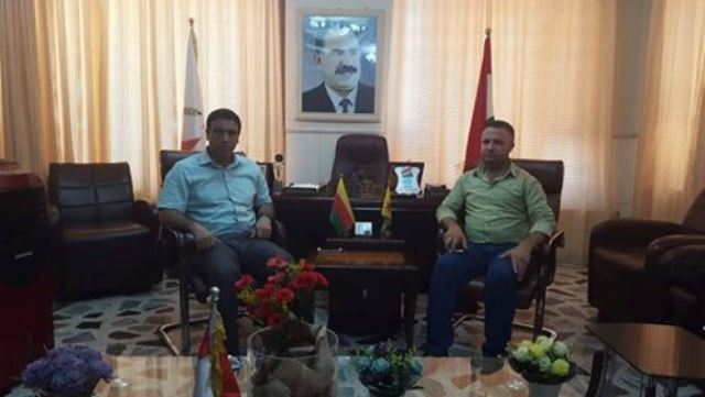 Photo of ممثلية الـ PYD تستقبل مدير غرفة الصناعة بإقليم الجزيرة