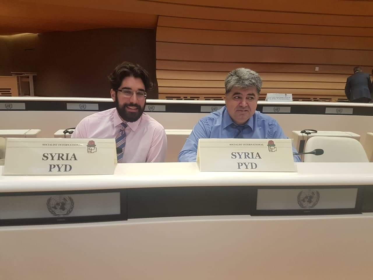 Photo of ملف عفرين في اجتماع الاشتراكية الدولية