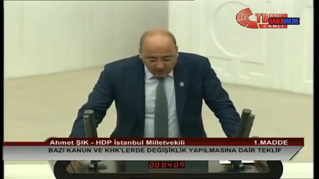 Photo of البرلمان التّركي ينذر ويحظر نائباً لـHDP