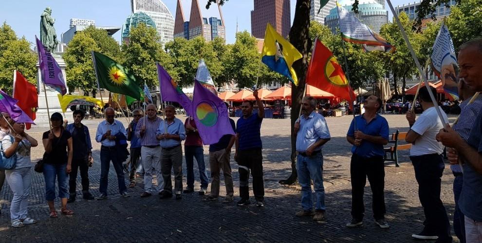 Photo of الجالية الكردية في هولندا تدين هجمات الاحتلال التركي