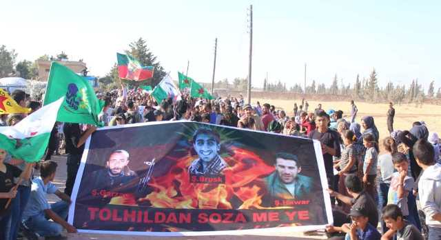 Photo of استذكار ثورة 19 تموز بمسيرة راجلة في الشهباء.