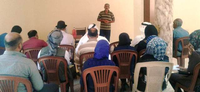 Photo of دورة تدريبيّة في تل حميس