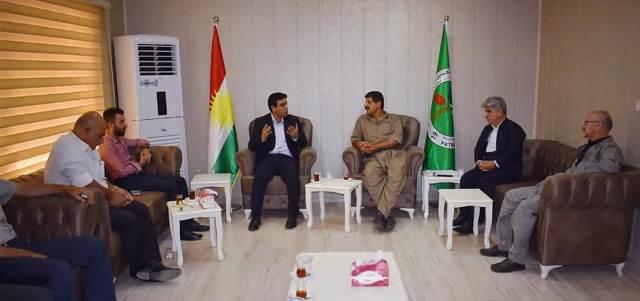 Photo of ممثلية الـ PYD في إقليم كردستان تزور مقر تنظيمات الـYNK في رانية
