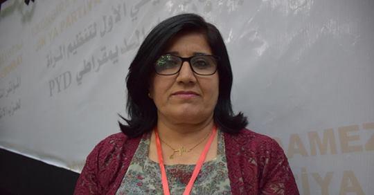 Photo of شريفة حسن: المرأة الكردية رسمت بالخط العريض الطريق لكافة نساء العالم