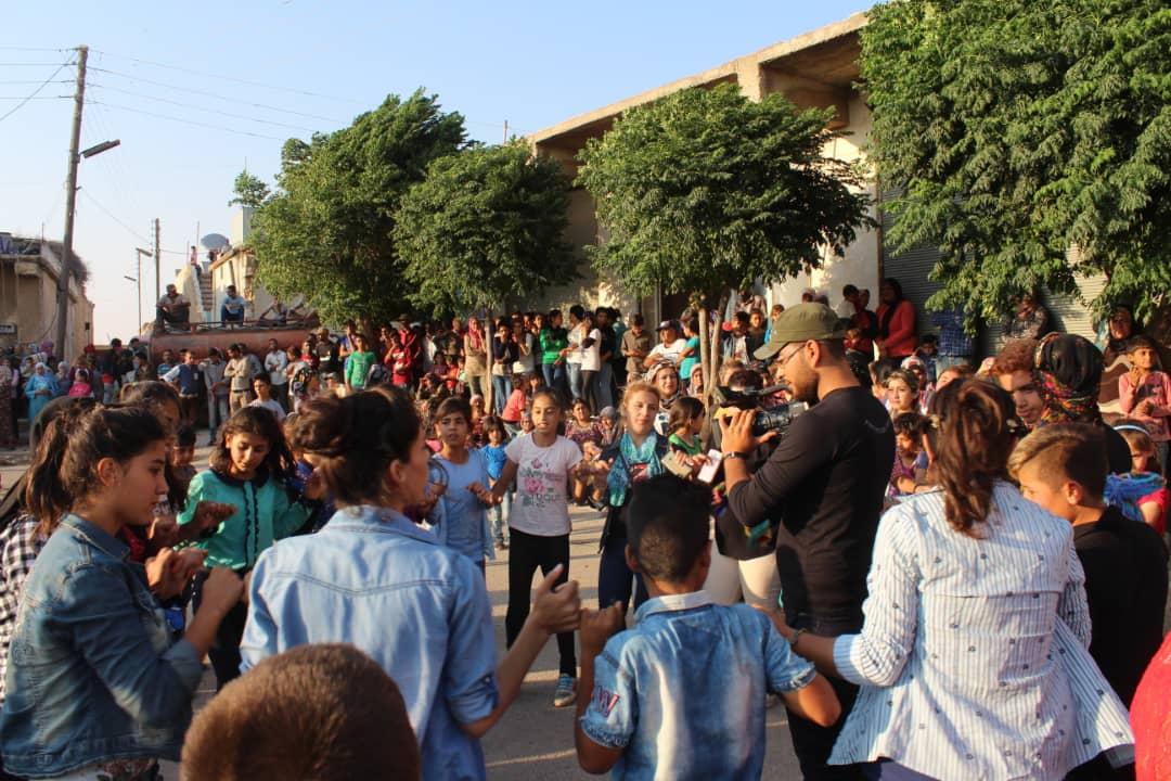 Photo of الهلال الذهبي في عفرين يستمر بفعاليات أسبوعه الثقافي باحتفالية في أحرص