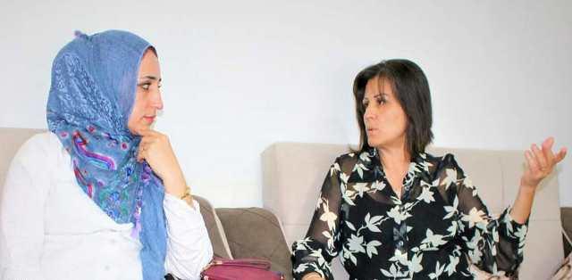 Photo of وفد نسوي من الـPYD يزور هيئة المرأة في الجزيرة