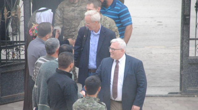 Photo of وفد أمريكي رفيع المستوى يزور مناطق شمال وشرق سوريا