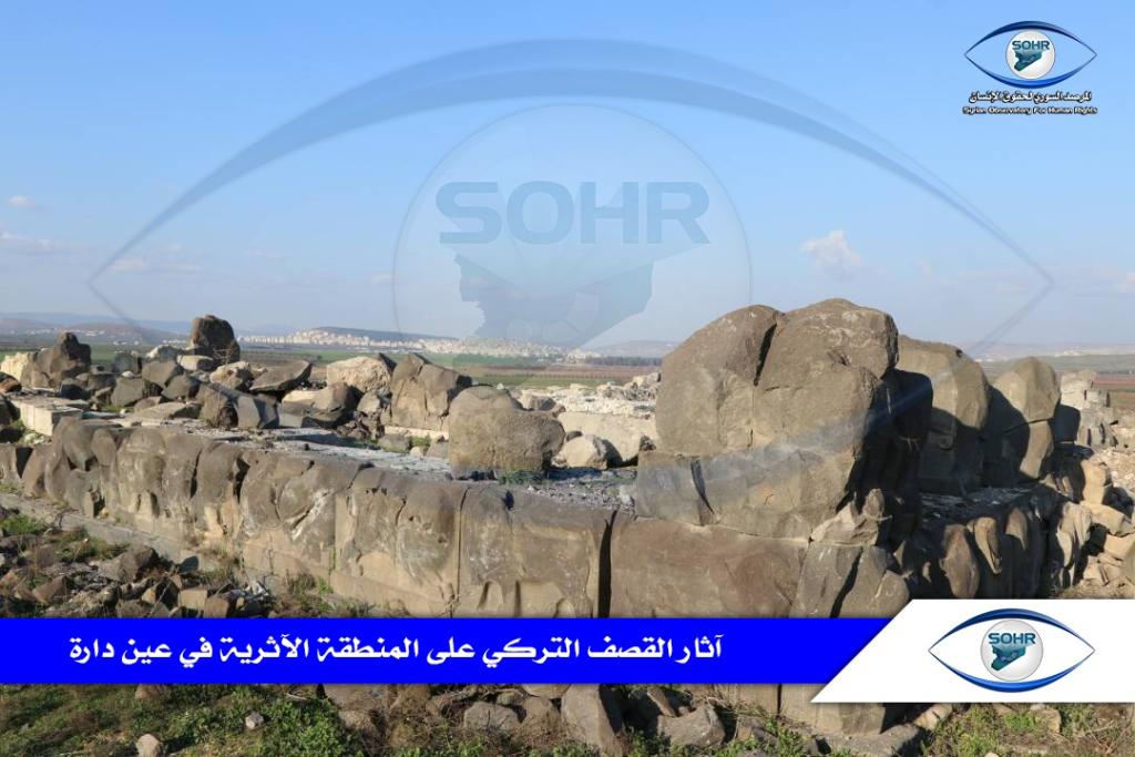 Photo of من أجل طمس تاريخها محتلّو عفرين يواصلون نهب آثارها