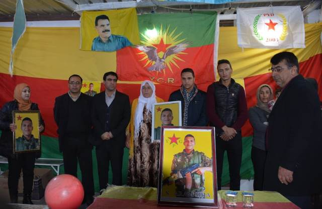 Photo of ممثلية الـPYD في إقليم كردستان تقيم مراسم تكريمية للشهيد آرام سيحة
