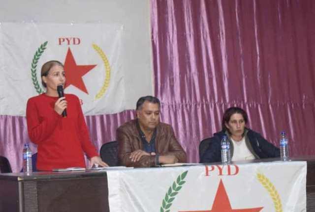 Photo of الاتحاد الديمقراطي يعقد الاجتماع الموسع للمحلية الشرقية في كوباني