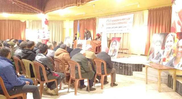 Photo of الاتحاد الديمقراطي يعقد الاجتماع الموسع لبلدة الغنامية في الدرباسية