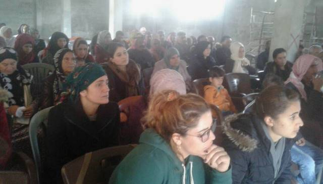 Photo of الاتحاد الديمقراطي يعقد اجتماعاً تنظيمياً في قبور الغراجنة التابعة لناحية تل تمر