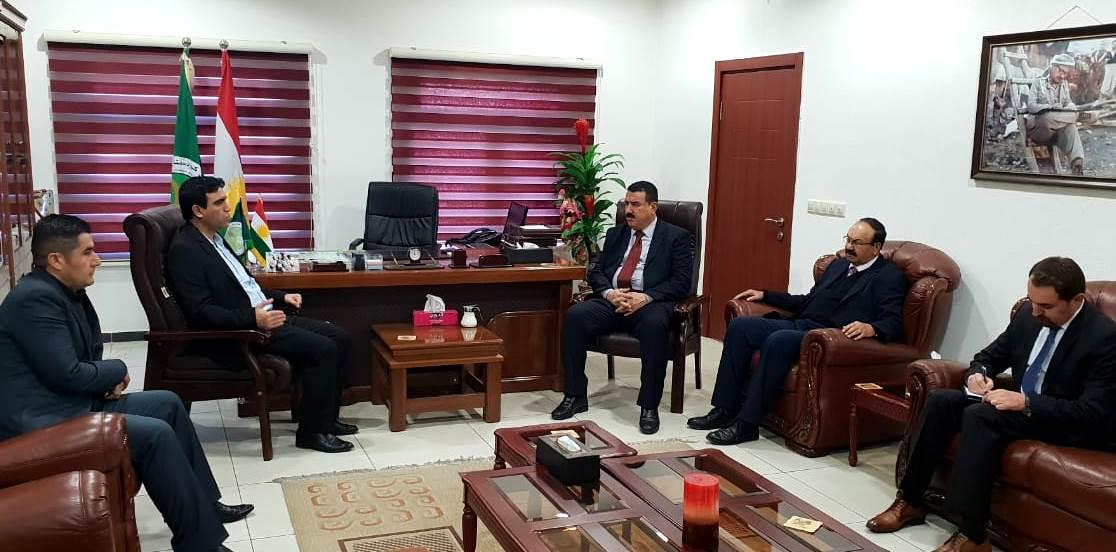 Photo of الاتحاد الديمقراطي والاتحاد والوطني الكردستاني يؤكدان الاستمرار في العمل المشترك