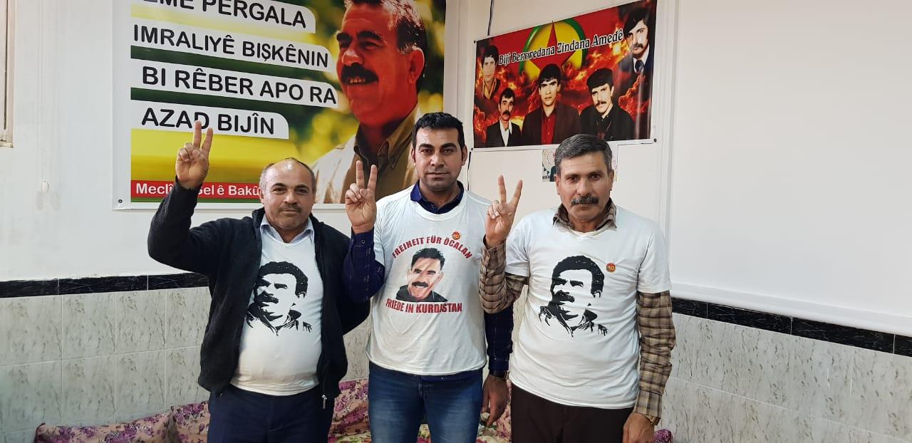 Photo of حملة الإضراب عن الطعام مستمرة في السليمانية ومشاركة فعالة من نشطاء روج آفا