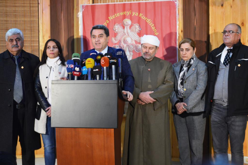 Photo of الوحدة الكردية إنموذج للوحدة الوطنية السورية