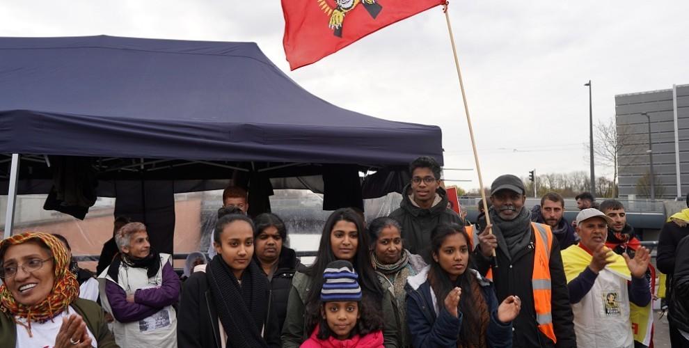 Photo of وفد سريلانكي يتضامن مع المضربين عن الطعام في ستراسبورغ