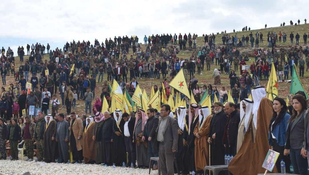 Photo of إقليم الفرات يحتفل بهزيمة داعش على يد قسد