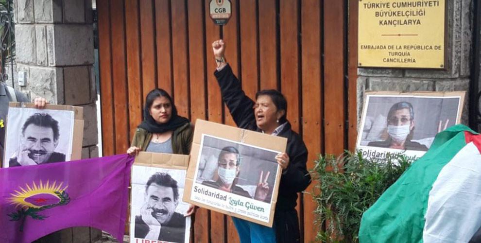 Photo of الإكوادور: مظاهرة تضامن مع مقاومة الإضراب عن الطعام