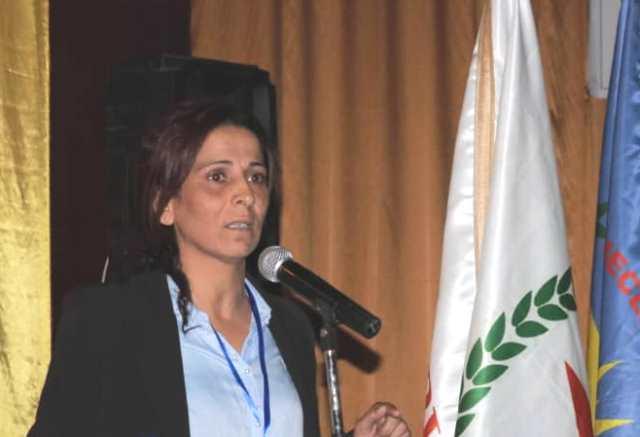 Photo of عائشة حسو: بعزيمة الشبيبة سنحقق آمال الشعوب التواقة للحرية