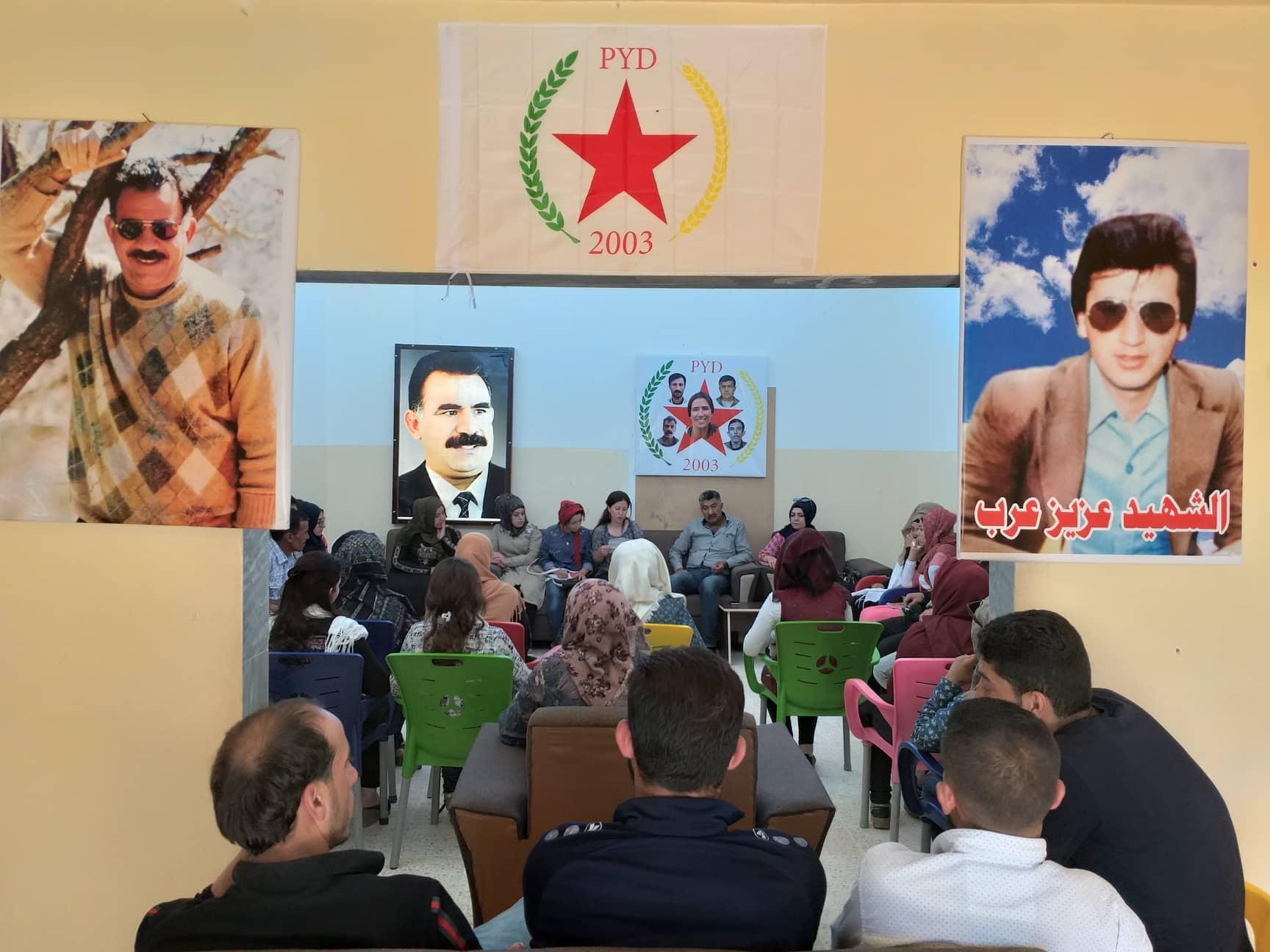 Photo of الاتحاد الديمقراطي يعقد سلسلة من الاجتماعات في ناحية تل براك