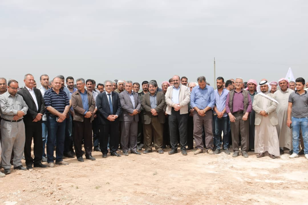Photo of حزب الاتحاد الديمقراطي يستذكر الشهيد خالد كوتي