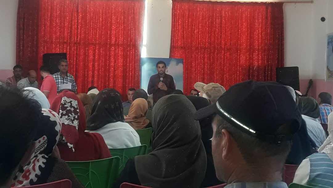 Photo of لجان التربية والبلديات والصحة تجتمع بأهالي تل براك