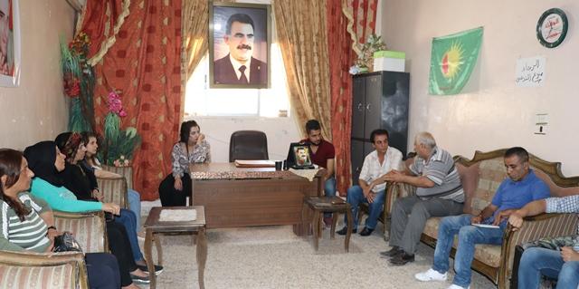 Photo of سلسلة زيارات لحزب الاتحاد الديمقراطي في حلب