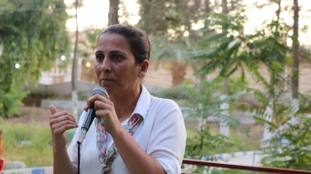 Photo of عائشة حسو: لا يزال الخطر الداعشي قائماً