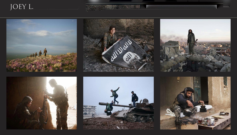 Photo of المصور العالمي جوي إل Joey L يفتتح معرضًا مصوراً عن المقاتلين الكرد في نيويورك