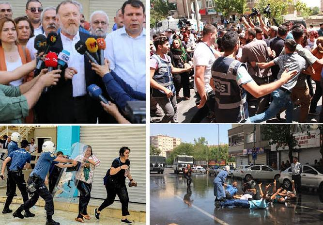 Photo of سلطات العدالة والتنمية تغتصب بلديات مدن كردية بالقوة، والشعوب الديمقراطية في حالة استنفار