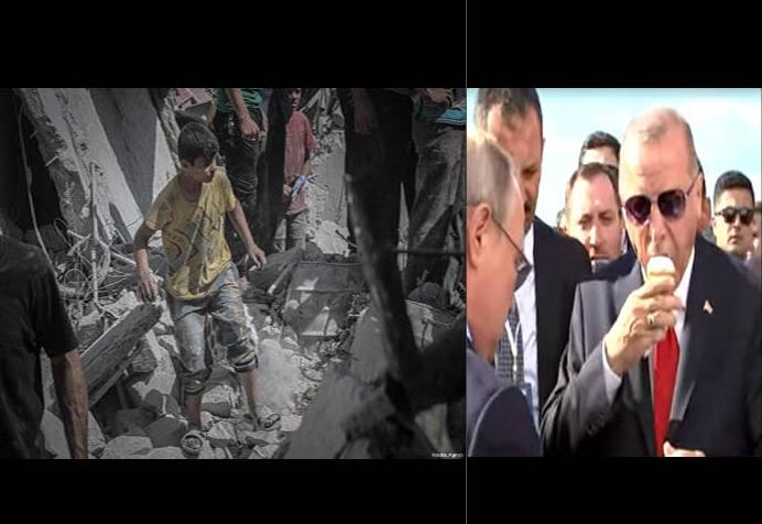 "Photo of بعد اللقاء الحار… لا جديد بشأن إدلب سِوى ""قرنُ بوظة"""