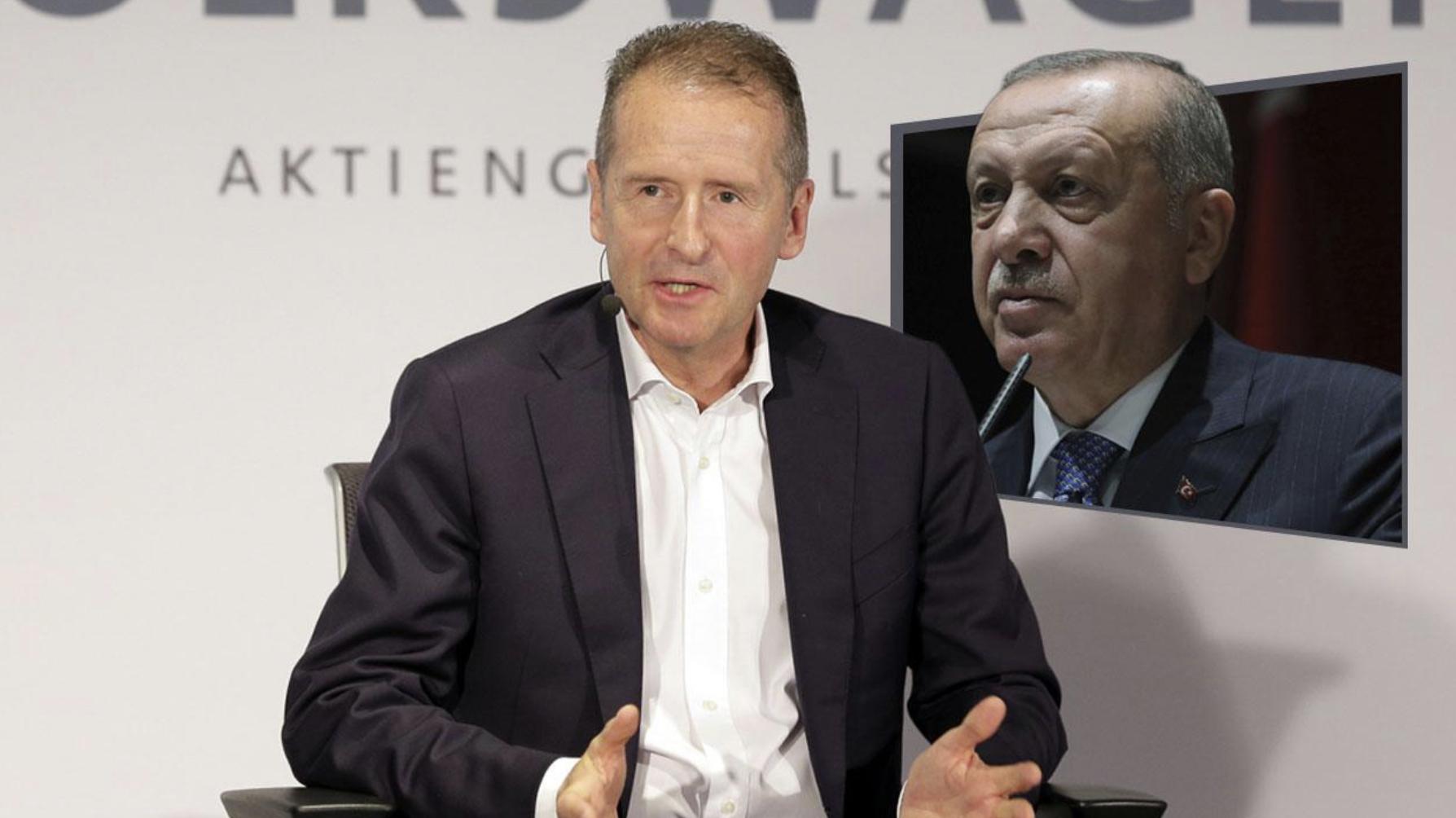 Photo of صحيفة بيلد : شركة VW تتعامل مع أردوغانالذي يسجن الألمان
