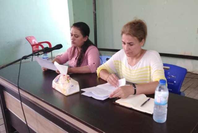 Photo of مجلس المرأة بمقاطعة كوباني يعقد سلسلة من الاجتماعات