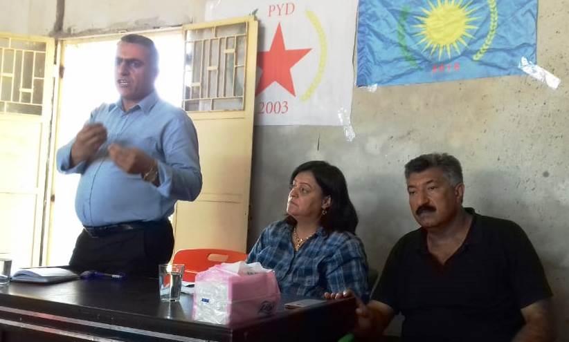 Photo of حزبنا يجتمع بأعضائه في توبو