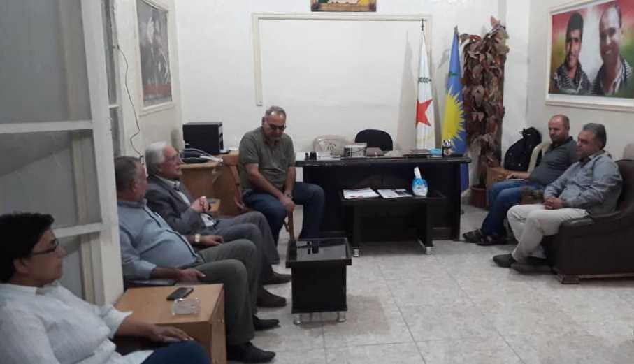 Photo of حزبنا في سري كانيه يستقبل حزب الوحدة