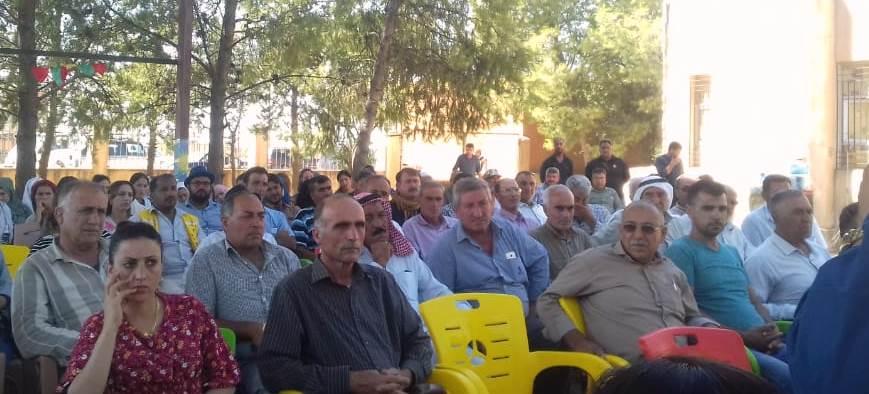 Photo of حزبنا يعقد اجتماعاً لأعضائه في سنجق سعدون
