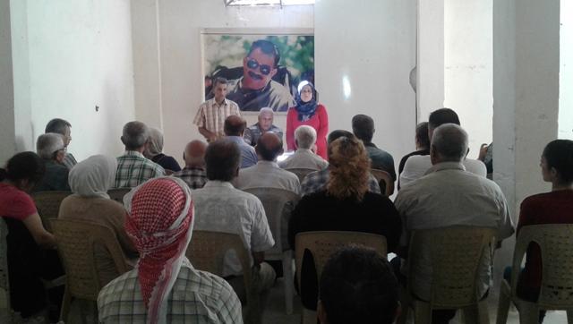 Photo of تنظيم الاتحاد الديمقراطي في حلب يعقد سلسلة من الاجتماعات التنظيمية